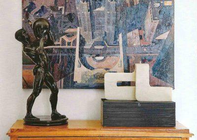 decoración, escultura clásica moderna, biedermeier