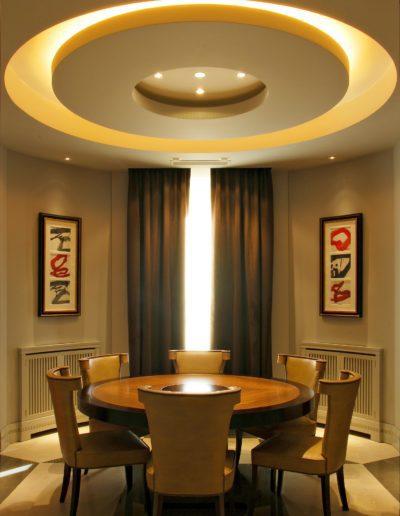 sala juntas, comedor, arquitectura interior, iluminación