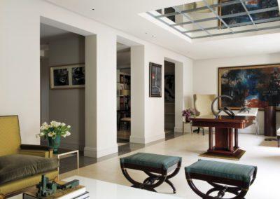 salón, arquitectura inetrior, cuadro