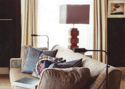 salón, sofá, decoración