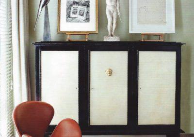 dormitorio, silla jacobsen, armario 1930`s