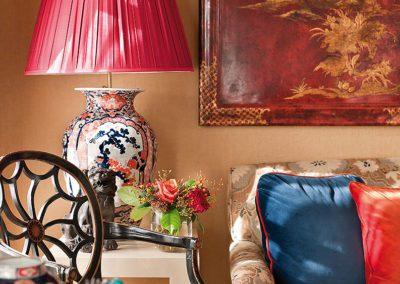 decoración, lujo, telas, chinoiserie, imari