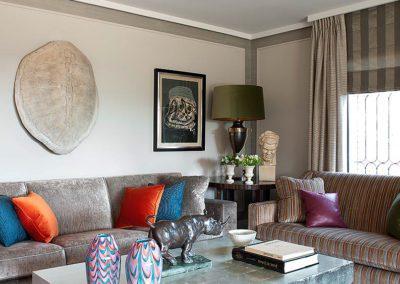 salón, decoración, mesa pan de plata