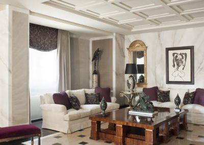salón, mesa centro, lujo, contemporáneo, ecléctico