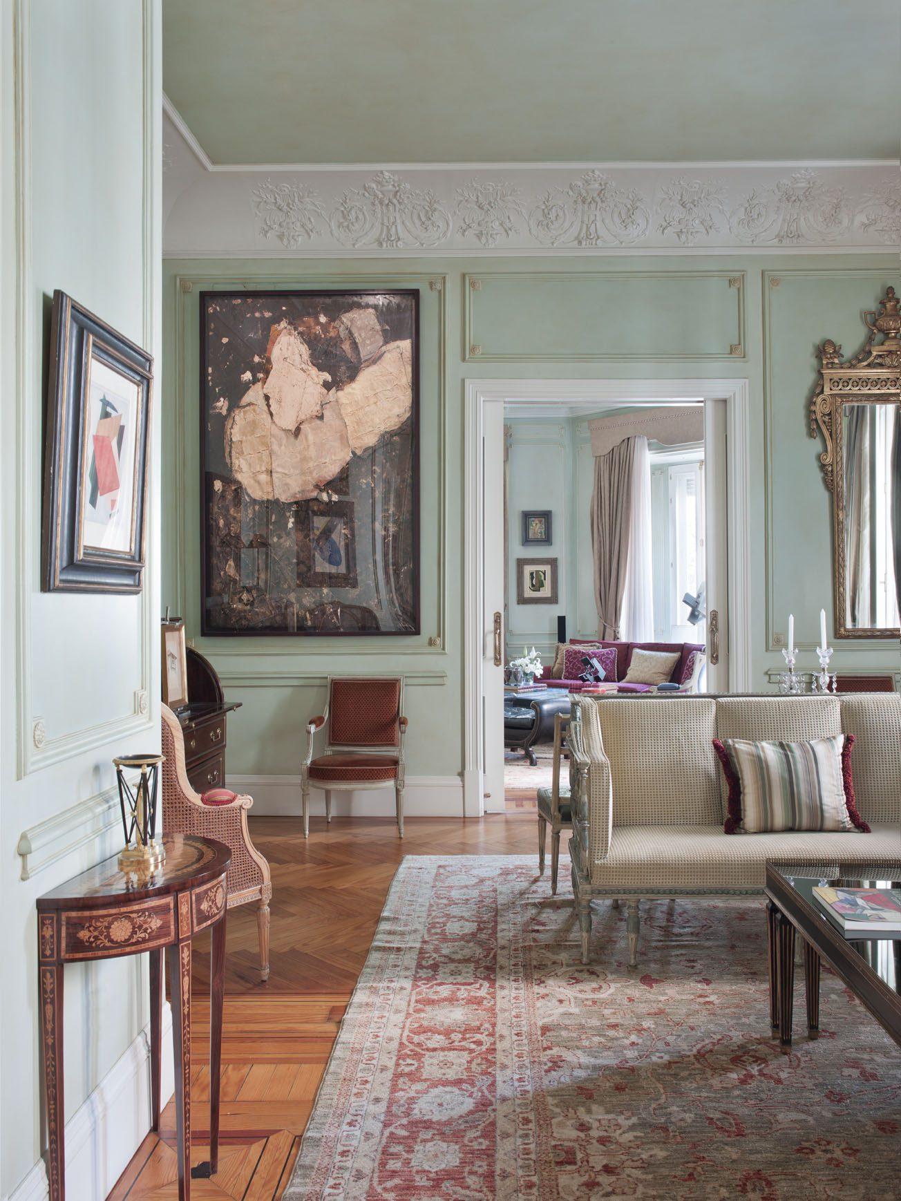 Dise o de interiores ram n garc a jurado for Decoracion clasica contemporanea