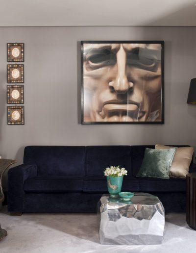 salón, escultura egipcio, fotografía Massimo Listri