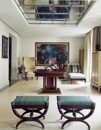salón, banquetas, arquitectura interior, decoración