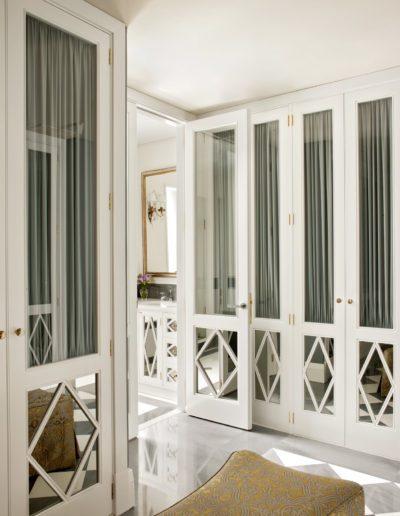 armario, vestidor, decoración, lujo, contemporáneo
