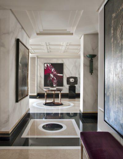 suelos mármol, lujo, contemporáneo, Luis Feito