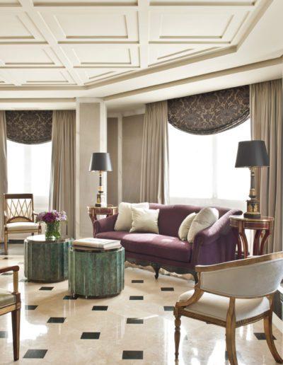 salón, silla gustaviana, mueble, ruso