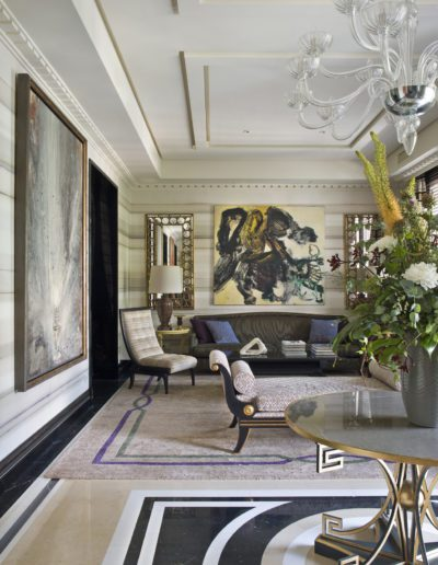 salón, living room, sophisticated, interior design, decoración, pintura Luis fega