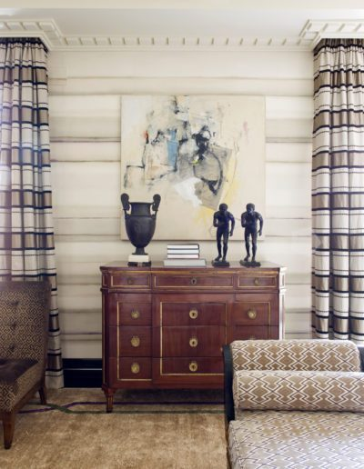 salón, living room, wallpaper, interior design, decoración, commode