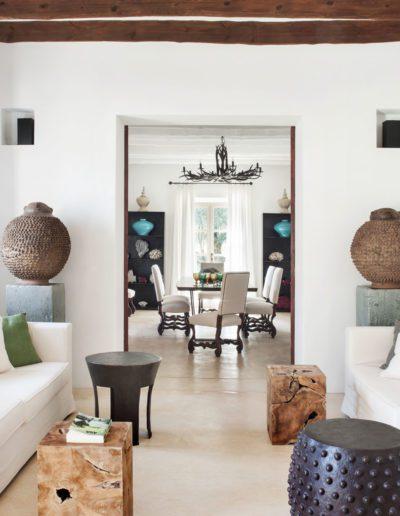 16 Living room, sofa, taburetes, madera, sofisticado, elegante, fresco