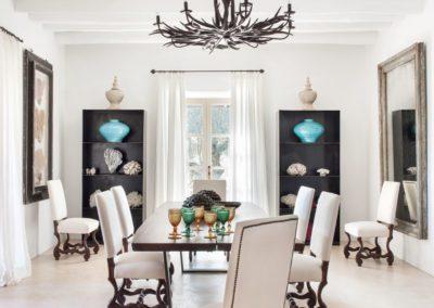 17 Dining room, comedor, summer house, elegant, retreat, sophisticated