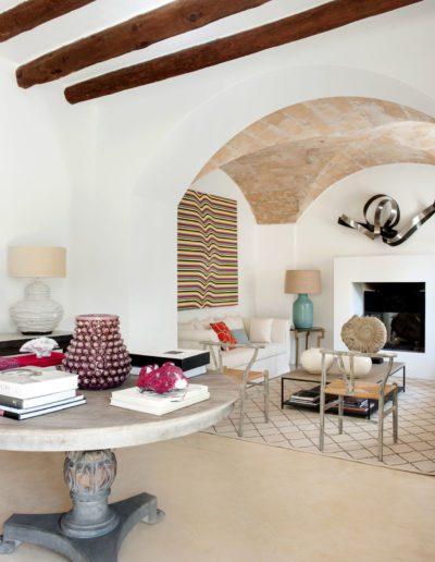 9 Salón, living room, velador, gueridon, Mallorca