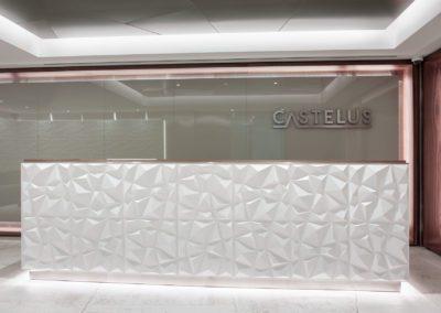 1 steel, acero, dekton, cristal, glass, panel 3d, walnut